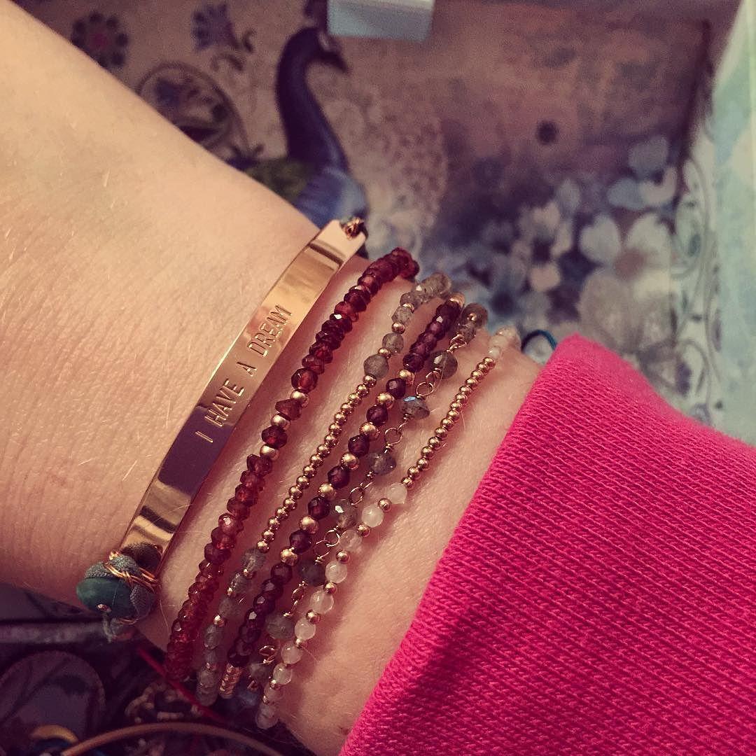 QUOTE Armband von senzou, Edelstein Armbänder von new one shop