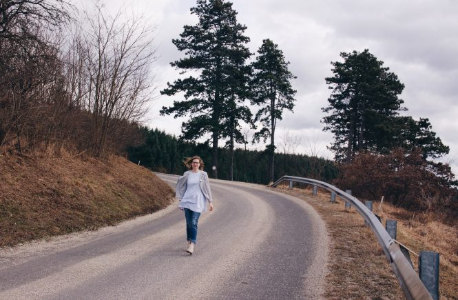 Streetstyle: Zara Kleid