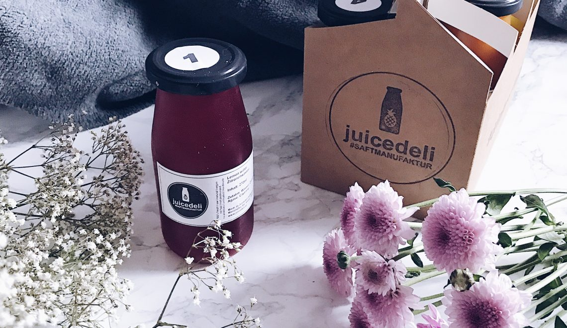 1 Tages Juice Cleanse mit Juice Deli