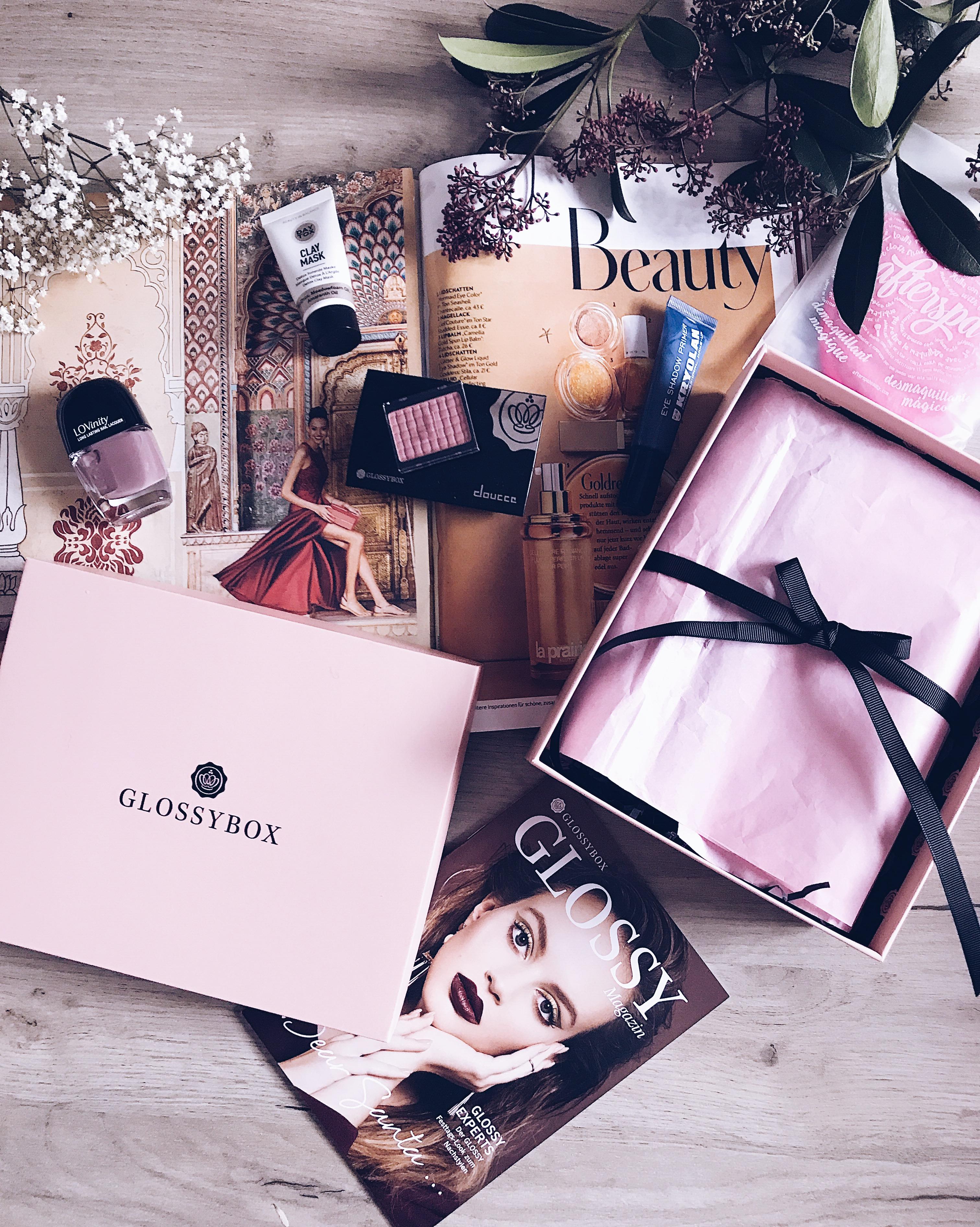 Glossybox November Santa Edition