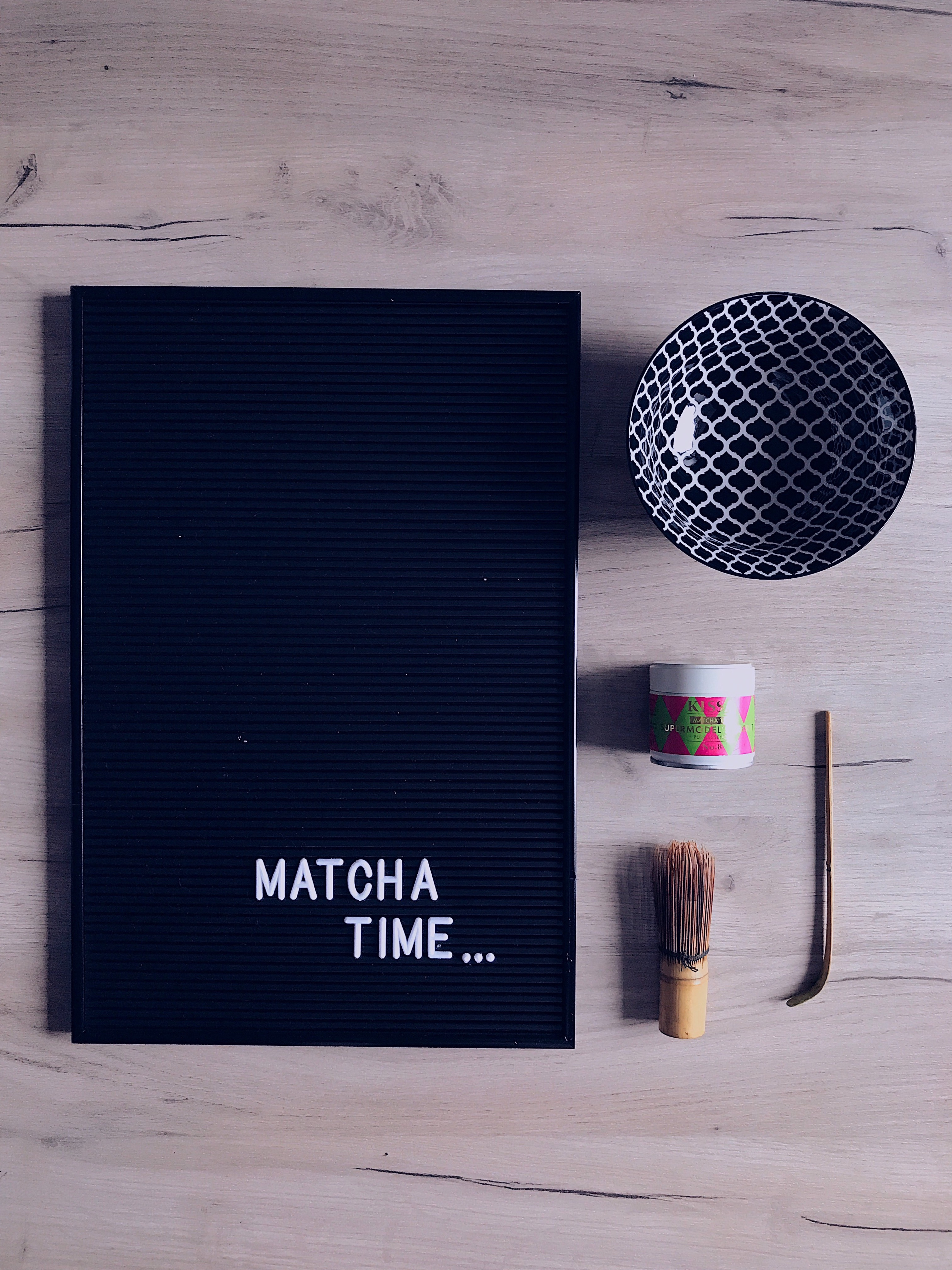 Matcha Latte, Kissatea