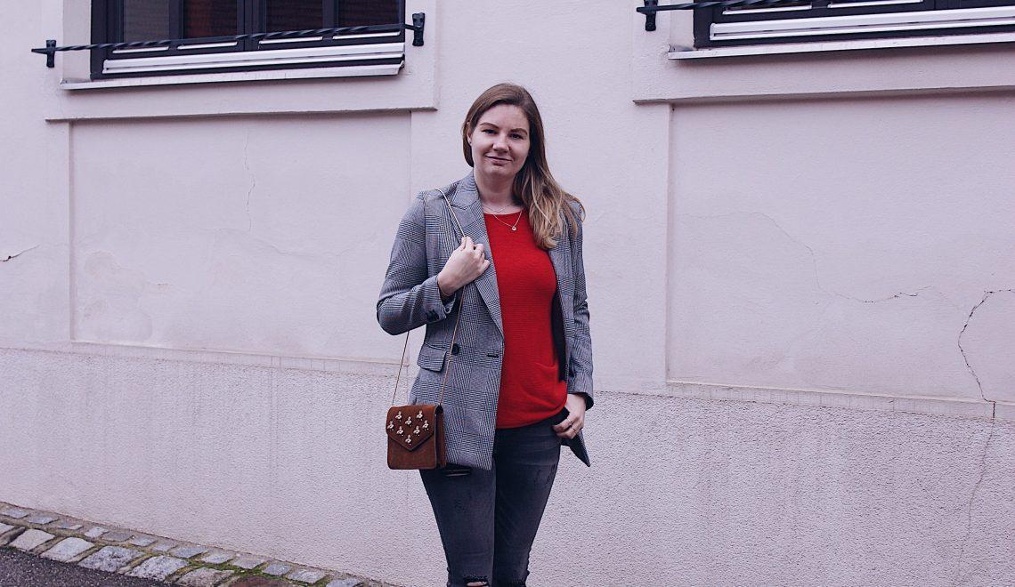 Mode Trend Hahnentritt Blazer