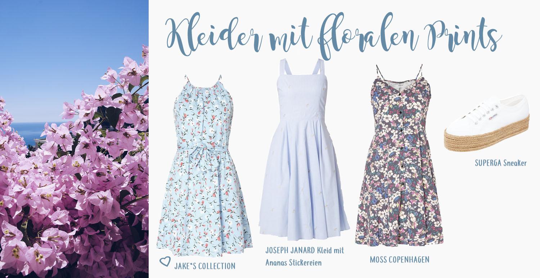 Kleider mit floralen Prints