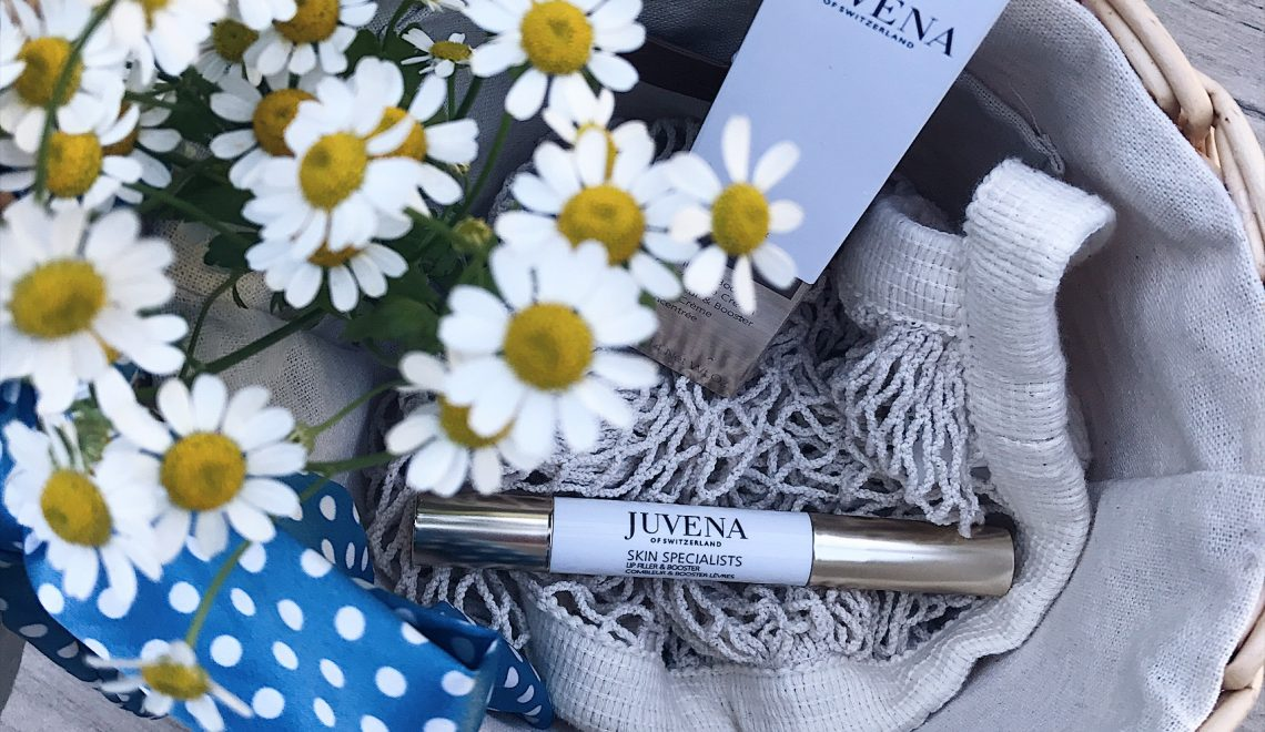 Lippenpflege mit dem JUVENA lip filler & booster