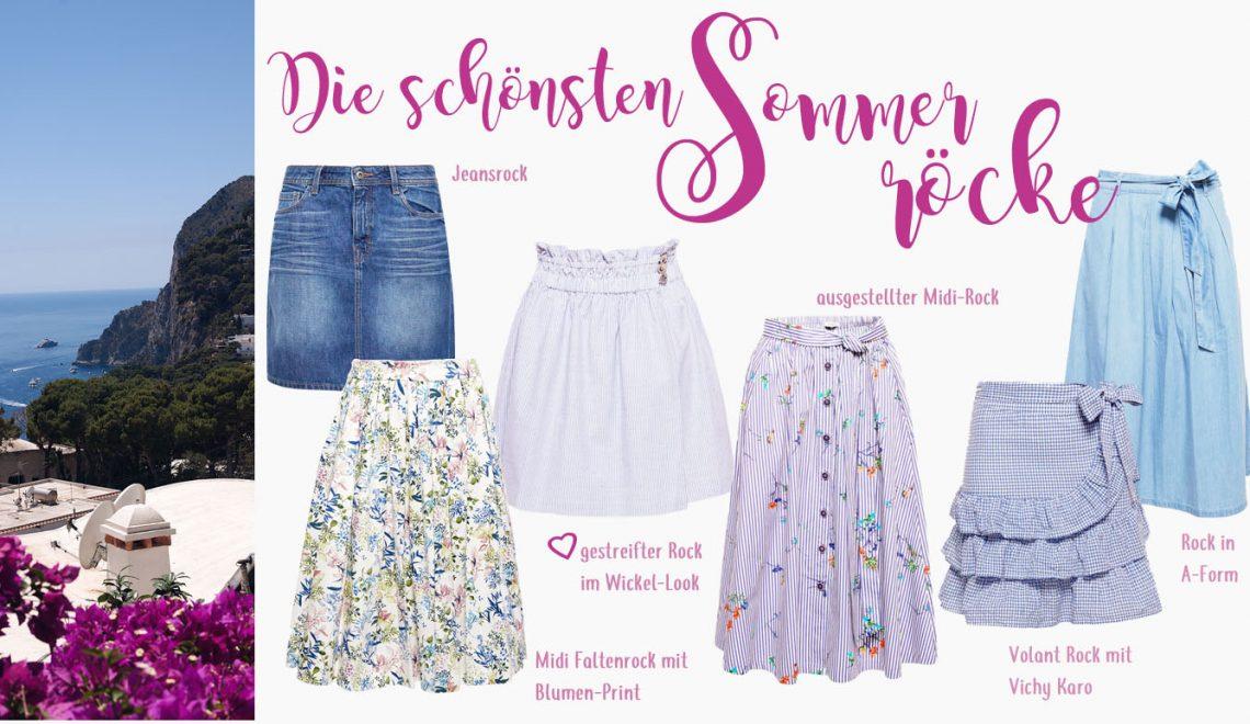 Die schönsten Sommerröcke: Von kurz bis lang diesen Sommer tragen wir Rock