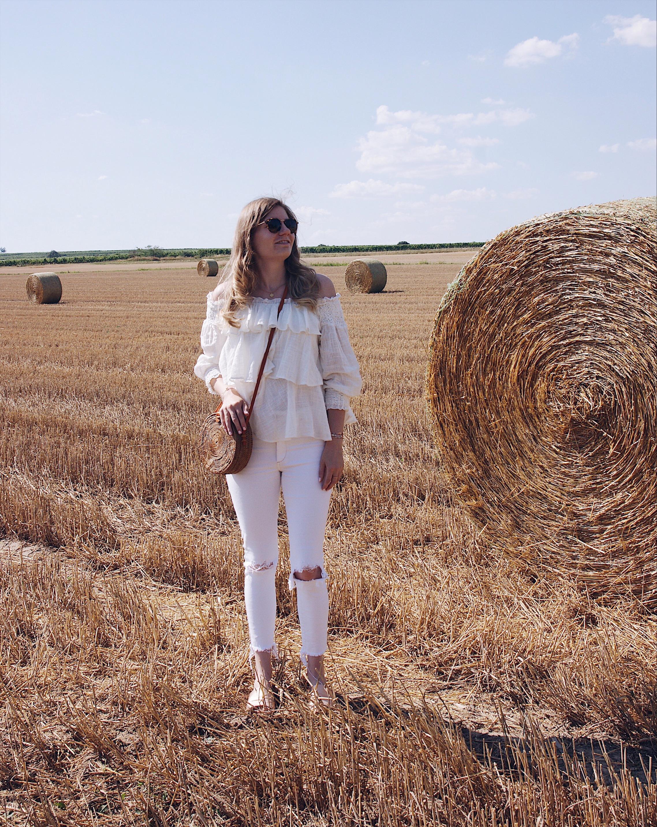 All White Look Zara