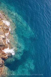 blue sea near manarola