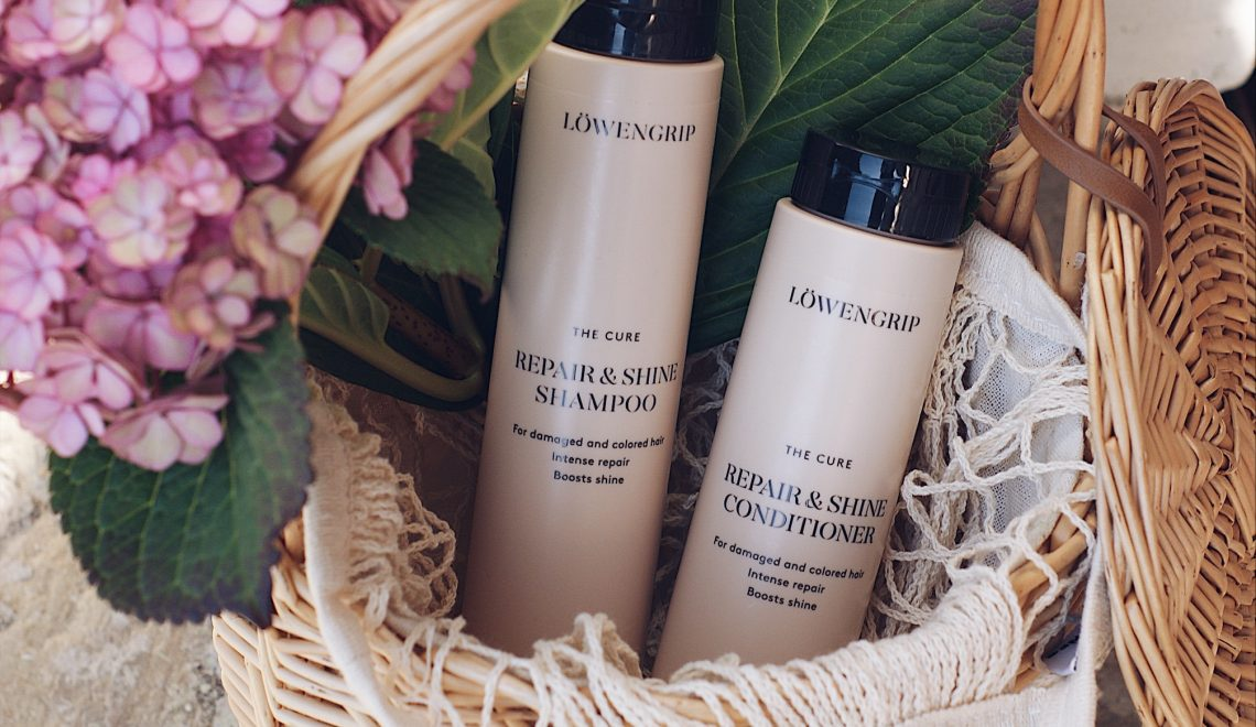 LÖWENGRIP – hands on THE CURE hair care