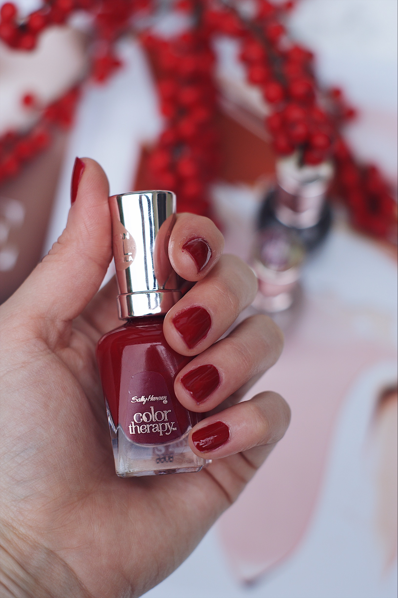 Sally Hansen Nagellack Herbst Red-y to glow