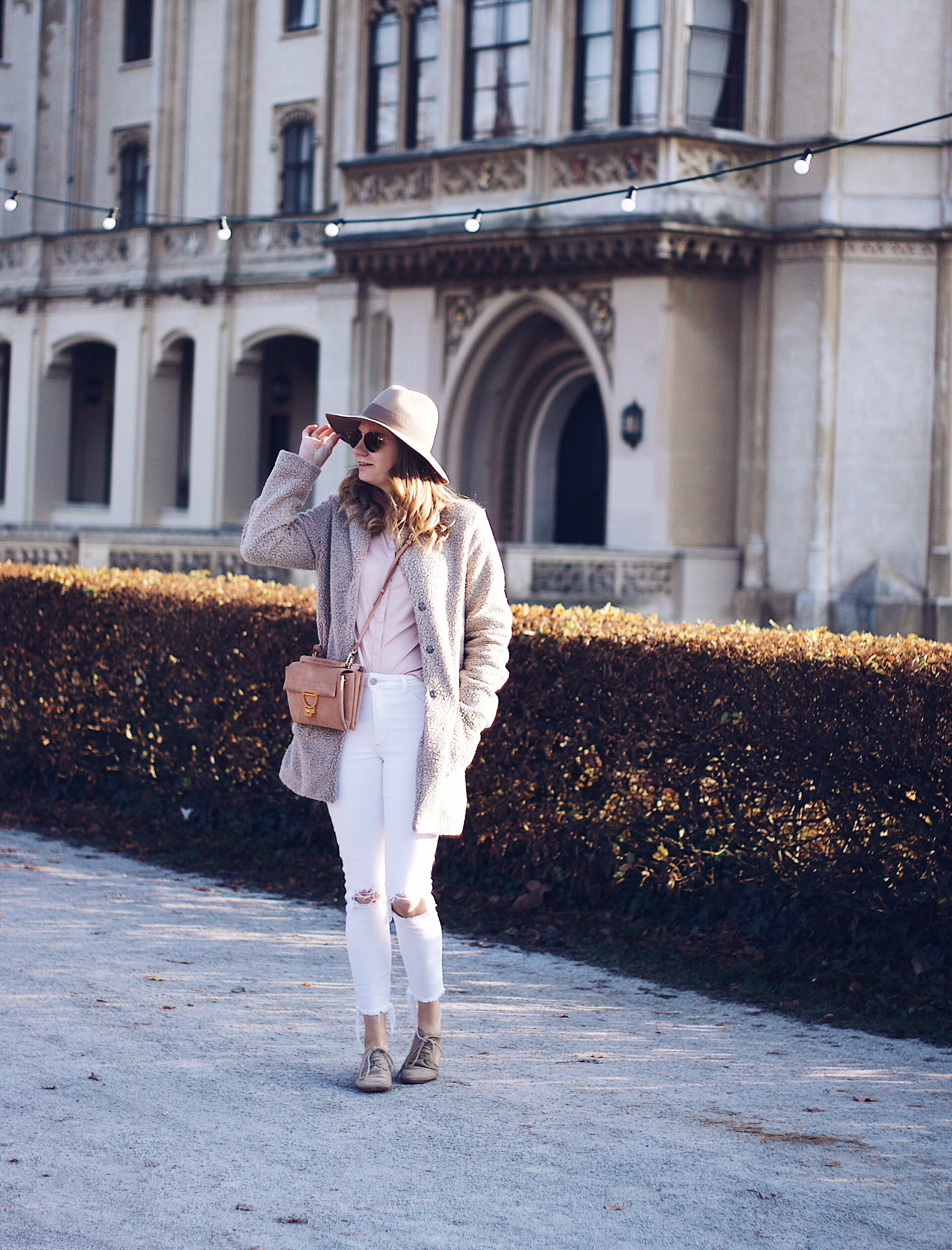 Herbst Outfit mit Hut