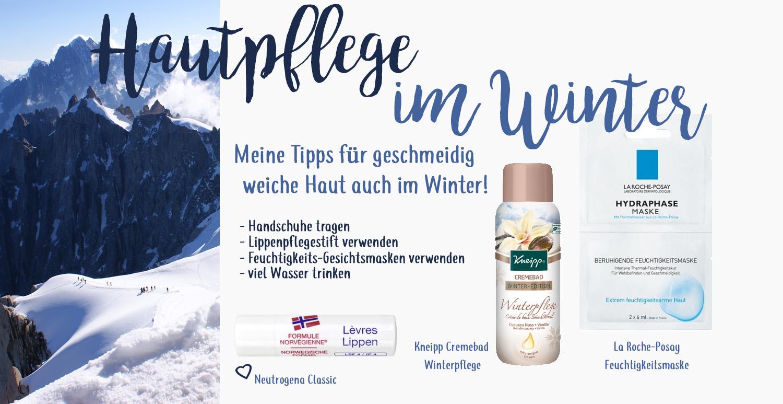 Hautpflege Tipps im Winter