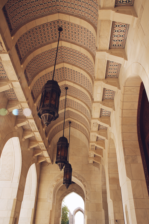 Muscat Große Sultan Quabus Moschee