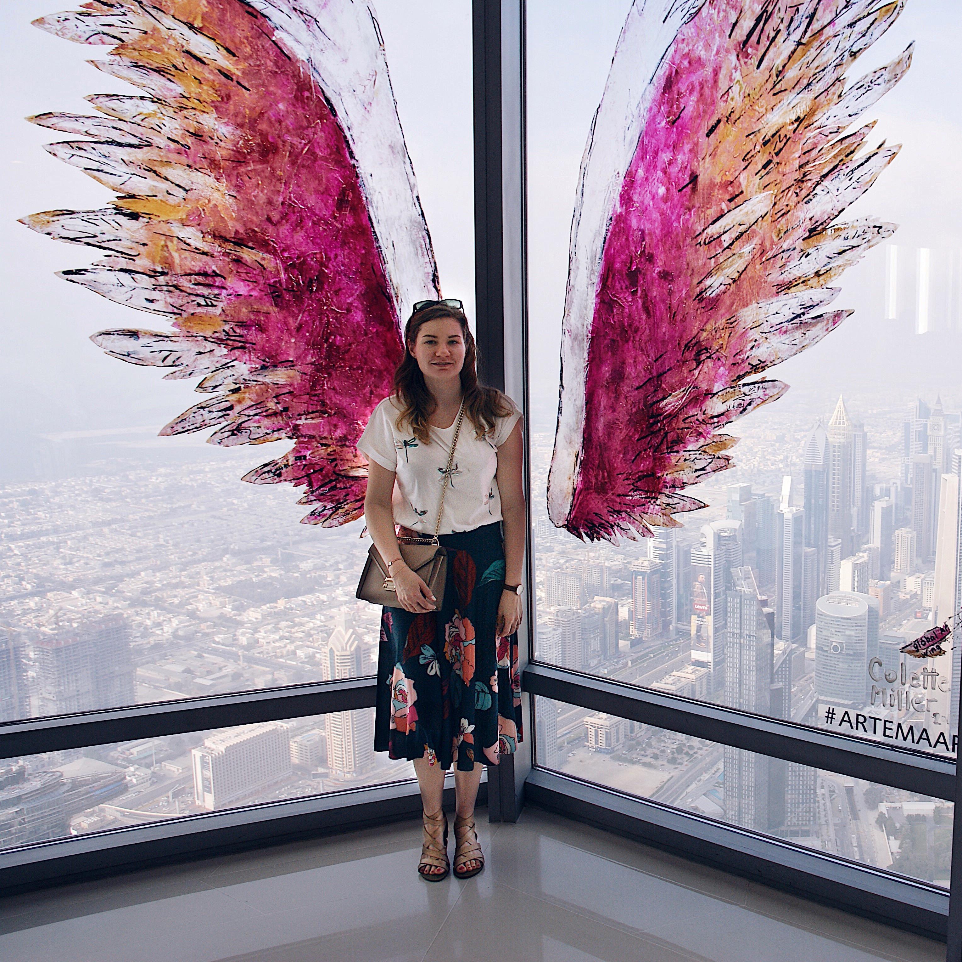 Dubai, Burj Khalifa, Wings