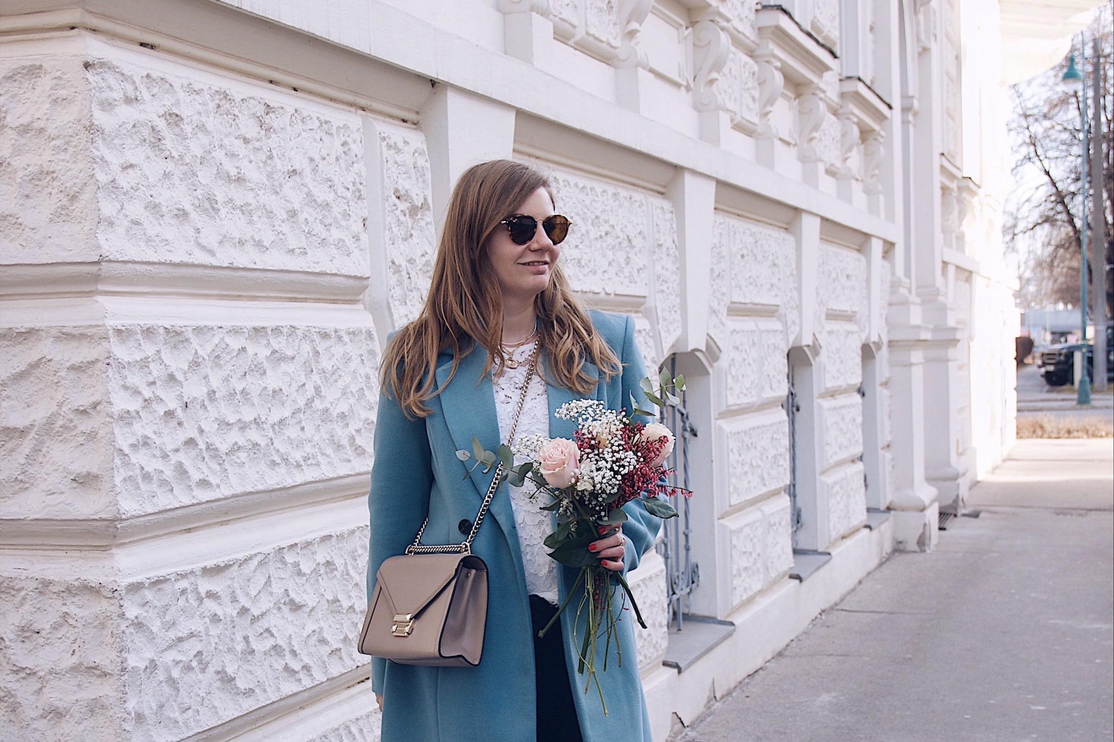 Spring Outfit Vero Moda Mantel