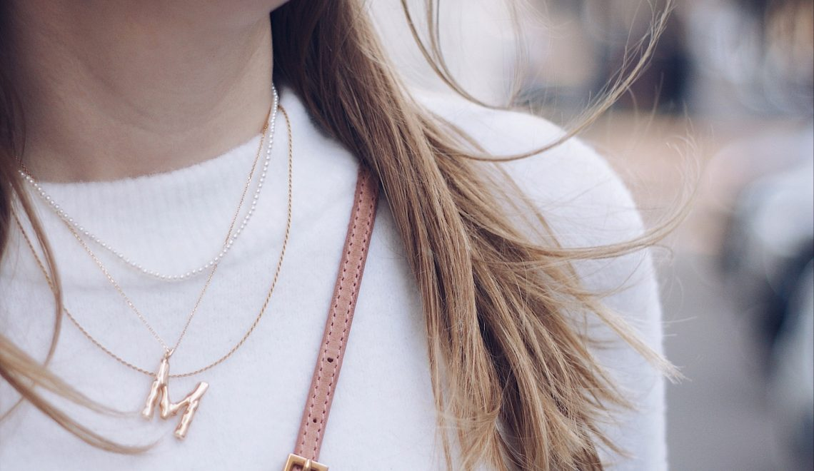 Alphabet necklaces – How to wear them?