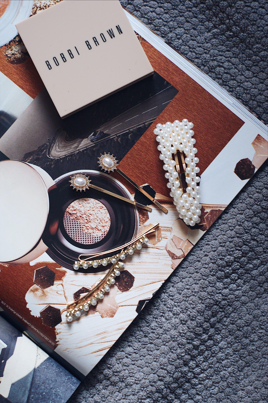 Hair slide trend, Haartrend 2019, Haarclips mit Perlen