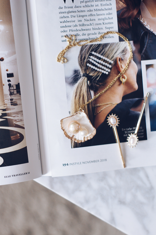 Muschel Halskette
