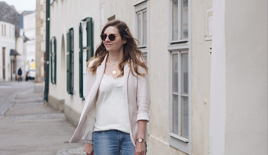 Jeans und Blazer – two timeless pieces für einen Casual-Chic Look