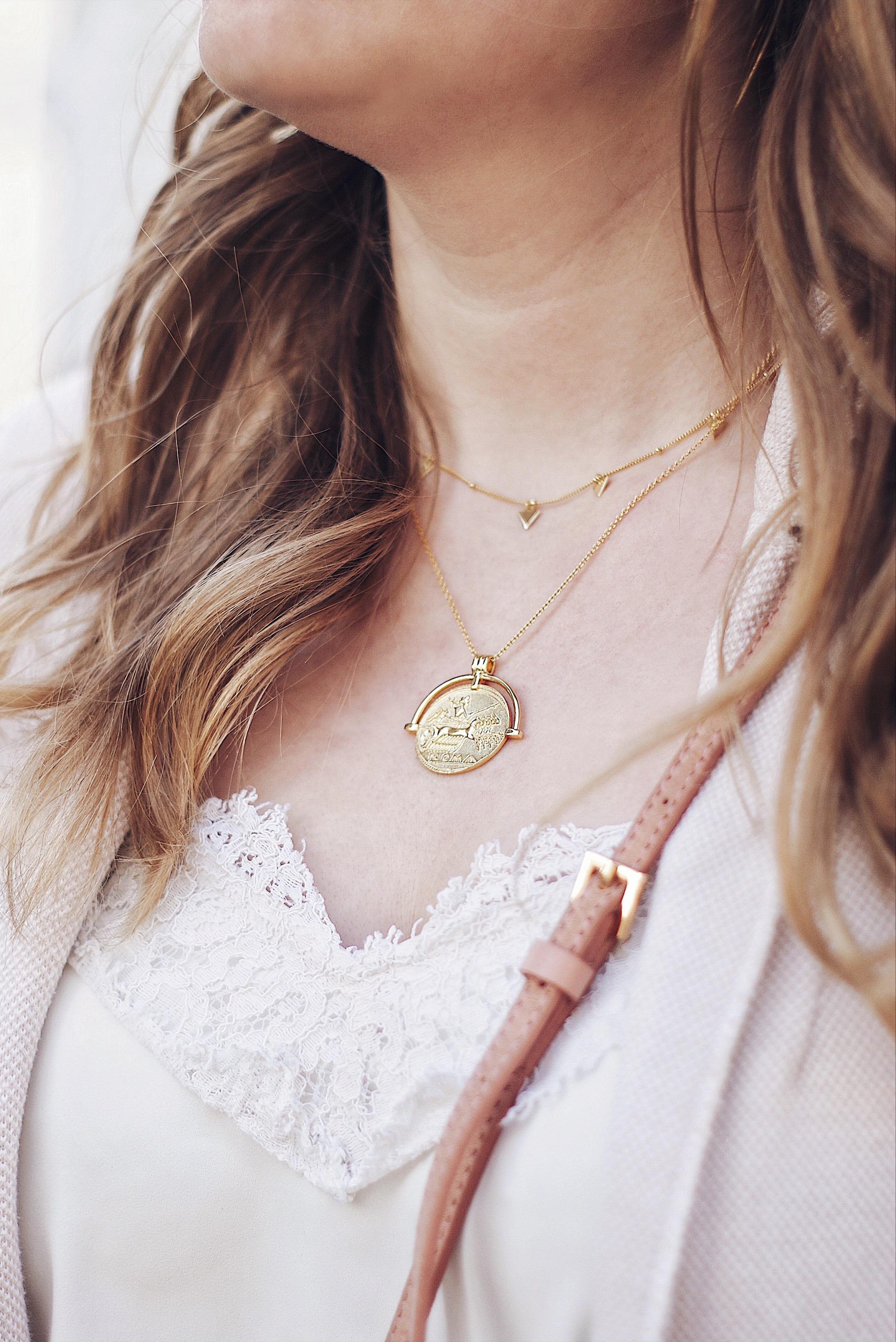 Glanzstücke Münz Halskette
