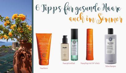 6 Haarpflegetipps für den Sommer