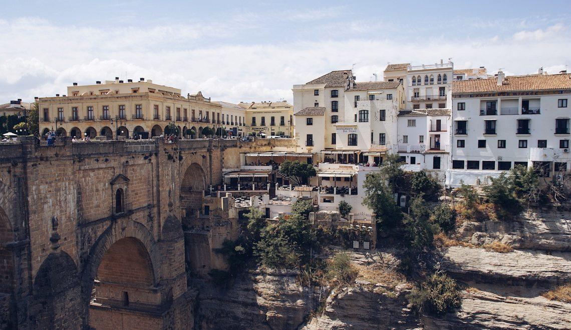 Ronda Reisebericht Spanien Andalusien Reise Puente Nuevo