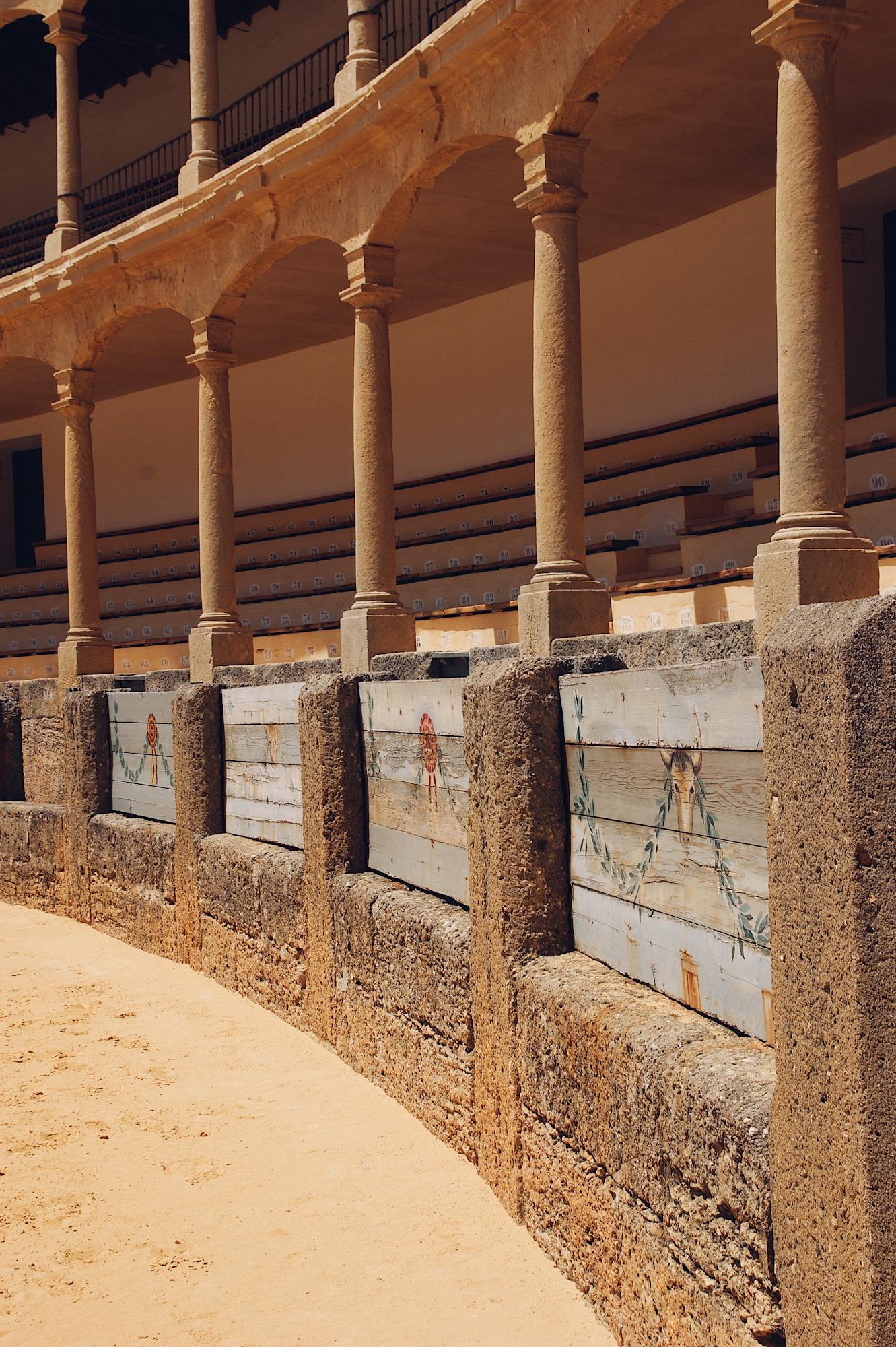 Stierkampfarena Ronda, Ronda Reisebericht Spanien Andalusien Reise