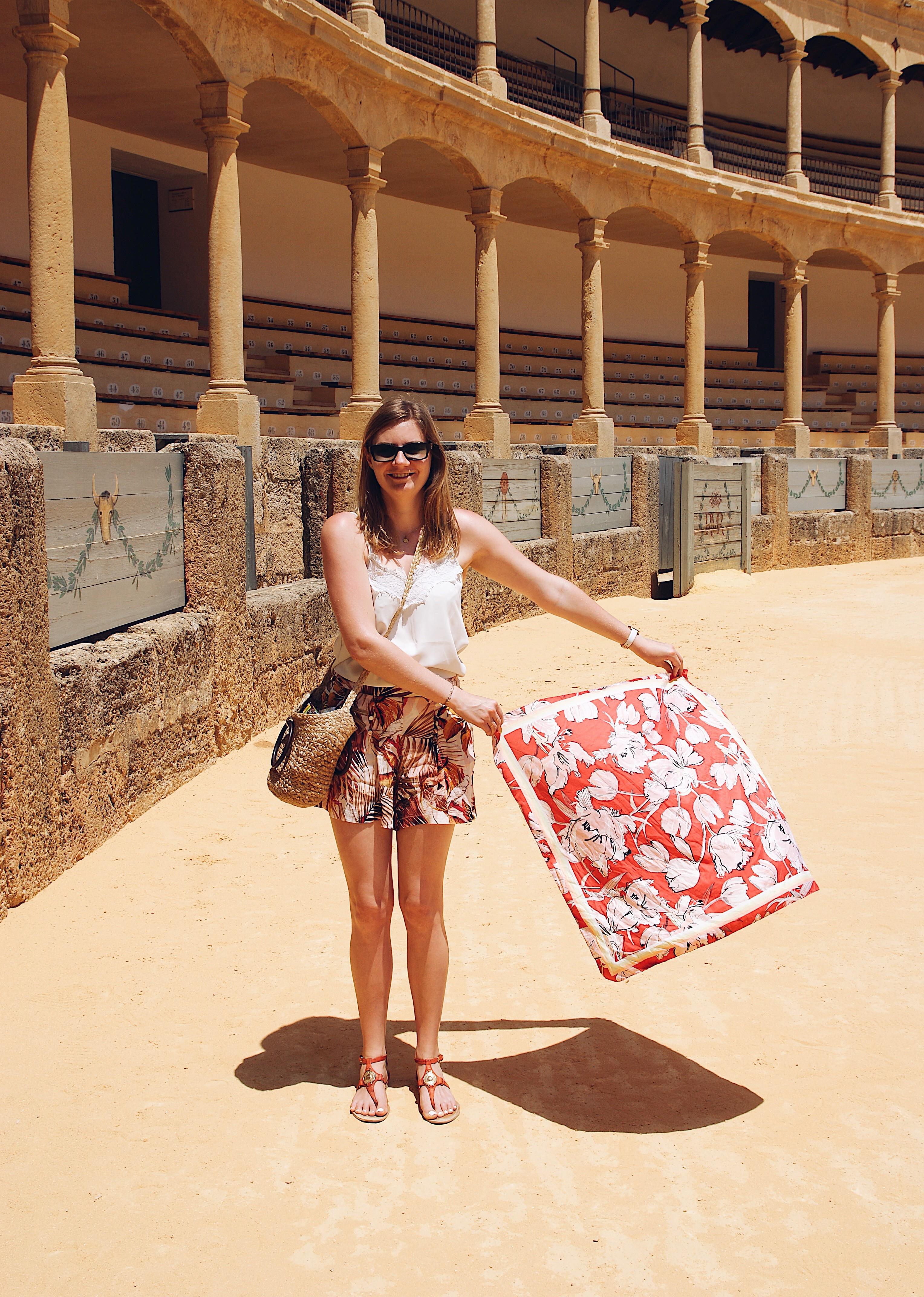 Ronda Stierkampfarena, Ronda Reisebericht Spanien Andalusien Reise