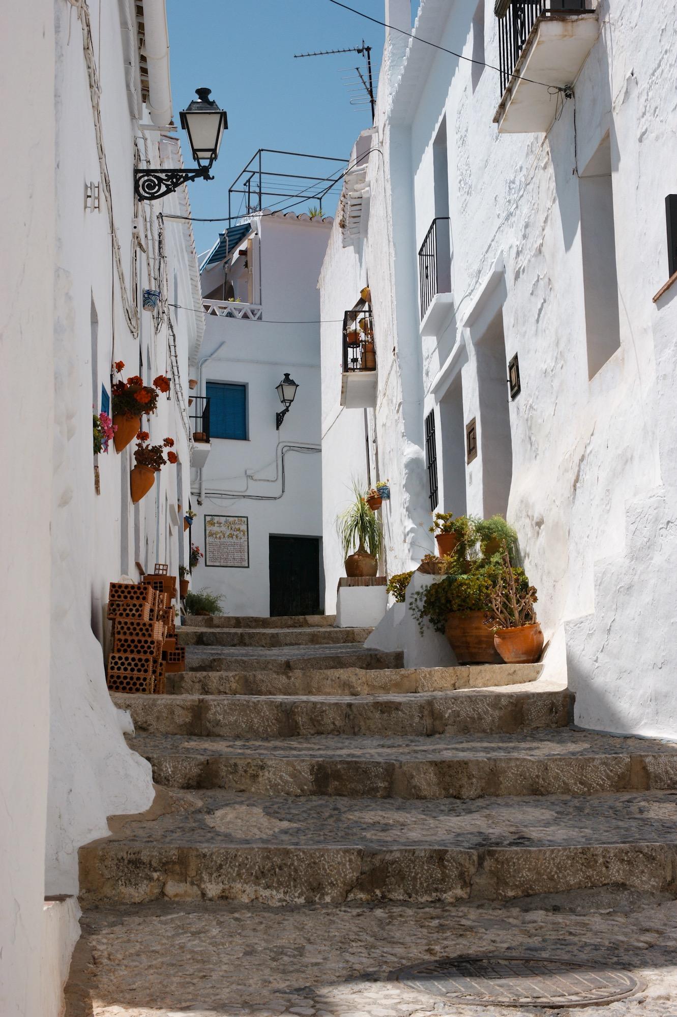 Frigiliana Spanien Andalusien Reise