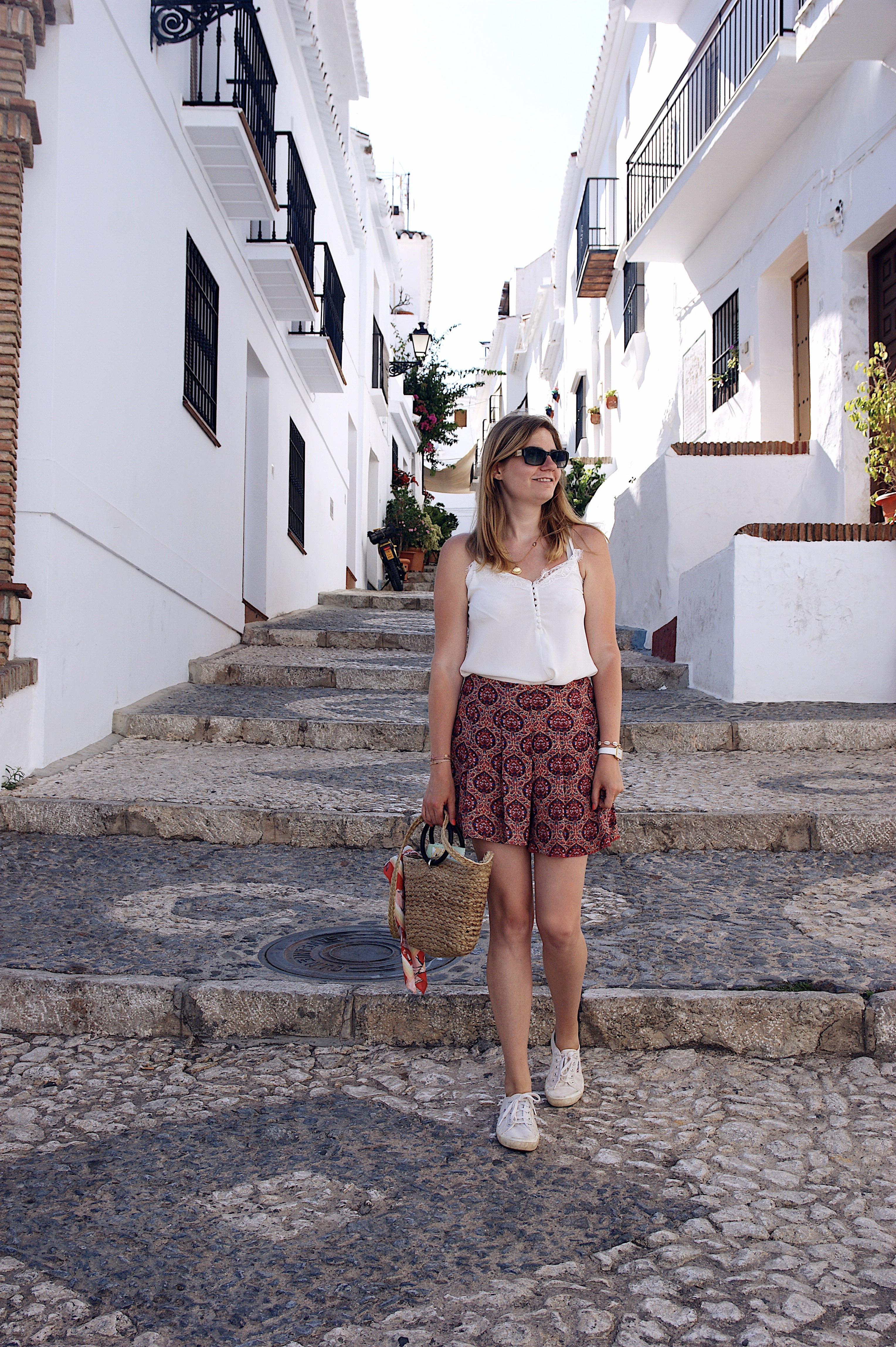 Frigiliana Andalusien