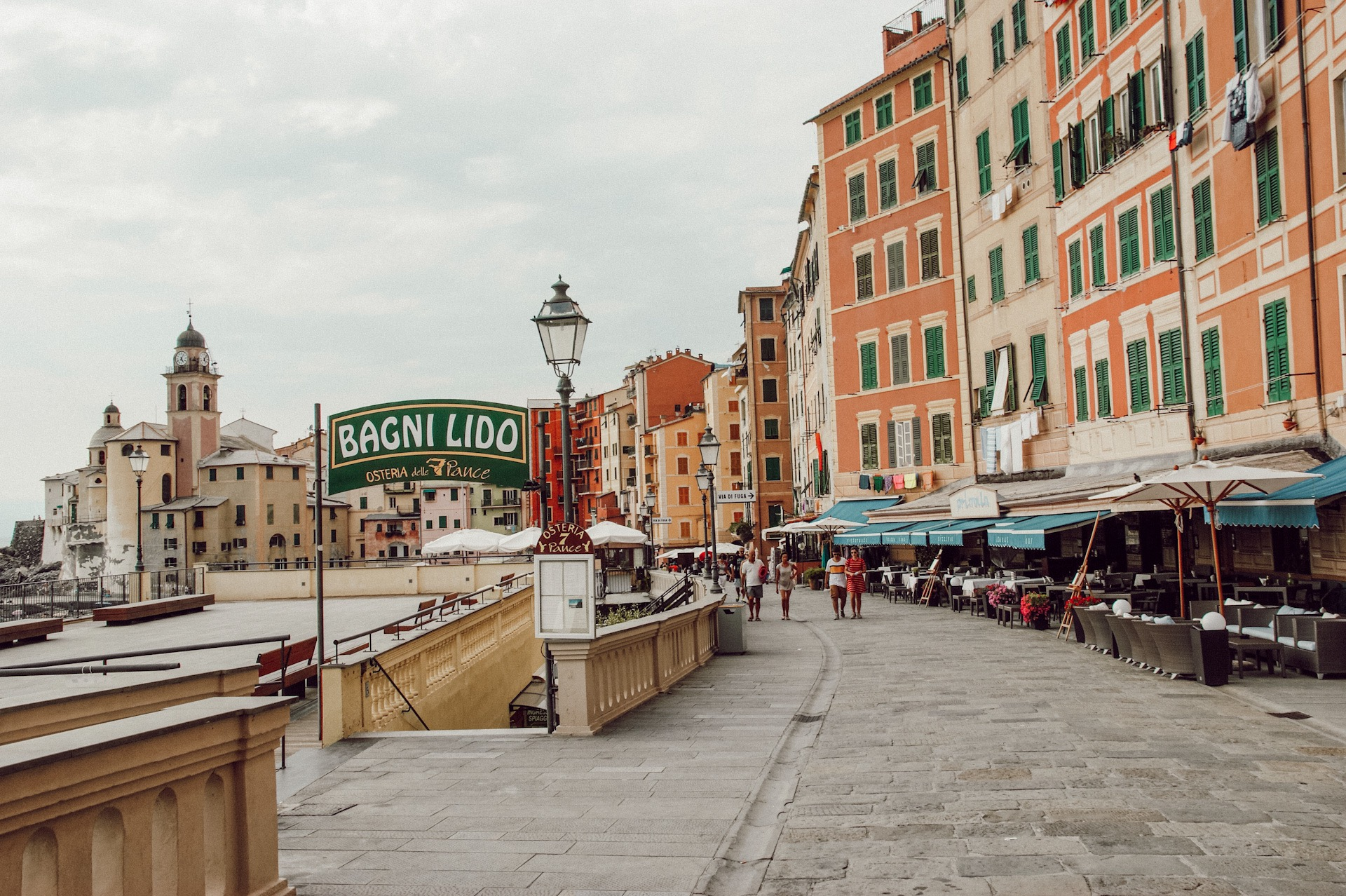 Camogli, Ligurien, Reisebericht, Italien Reise