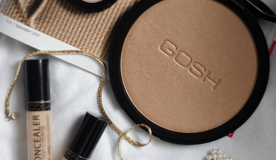 Natural looking all-day Make up mit Produkten von Gosh