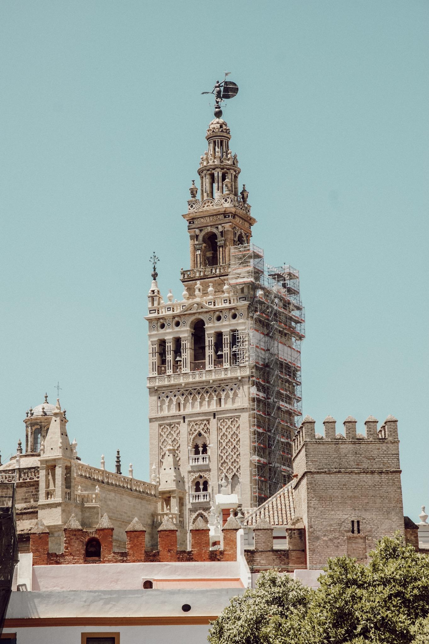 Sevilla La Giralda Glockenturm