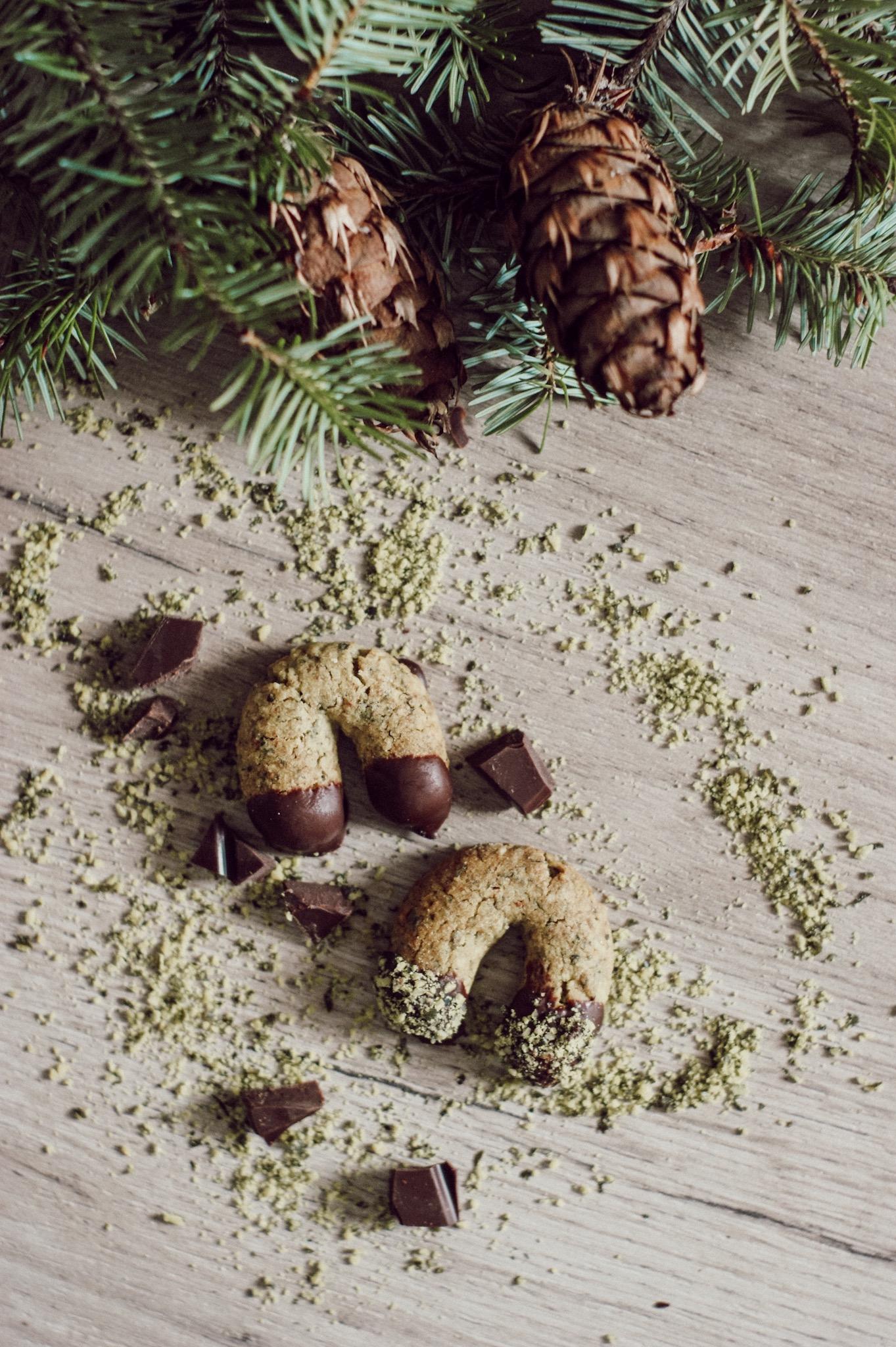 Kürbiskernkekse, Weihnachtskekse, Rezept, Krapferl