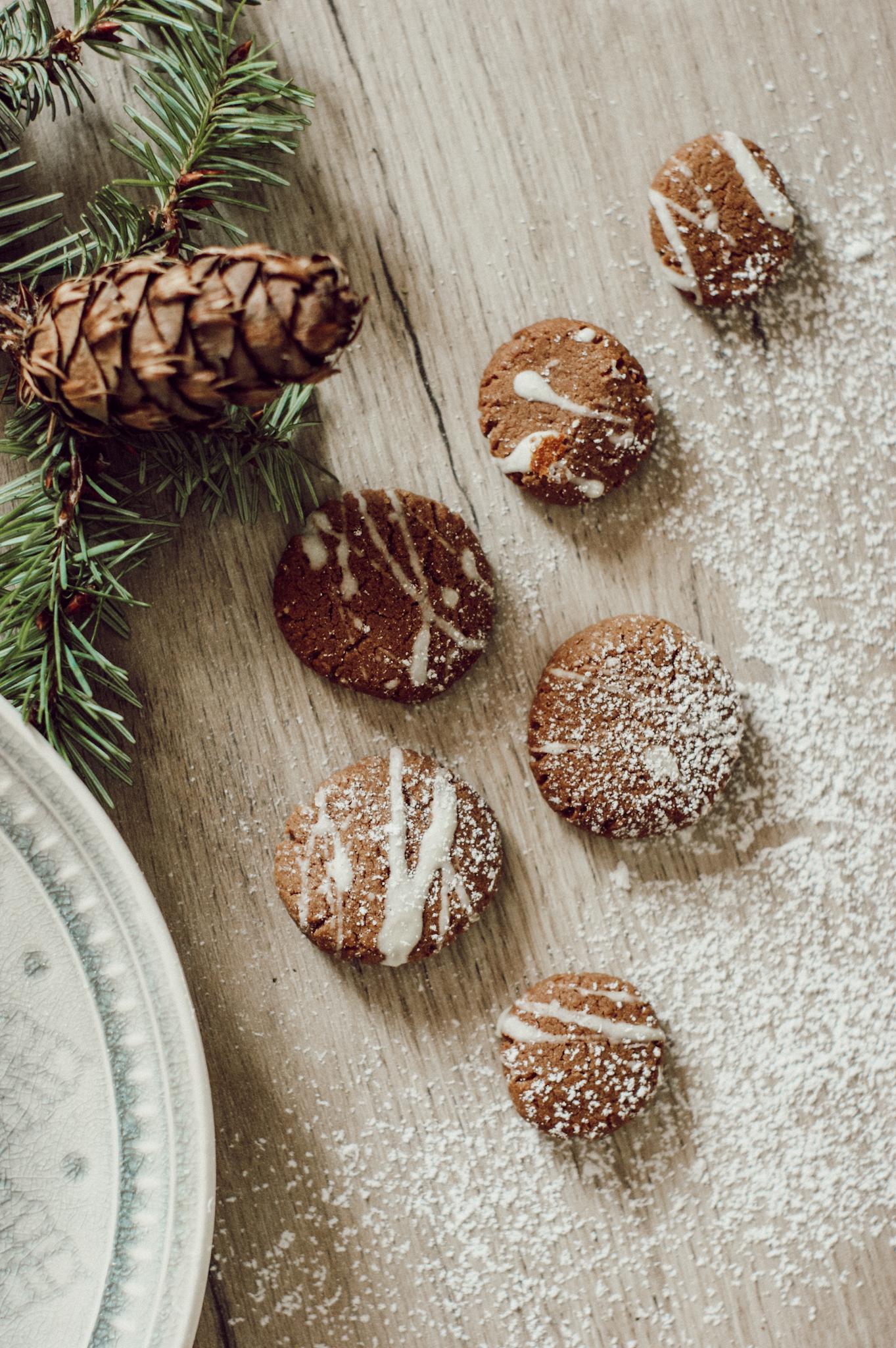Nougatkekse, Nougat, Weihnachtskekse