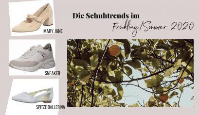 Schuh Trends Frühling Sommer 2020