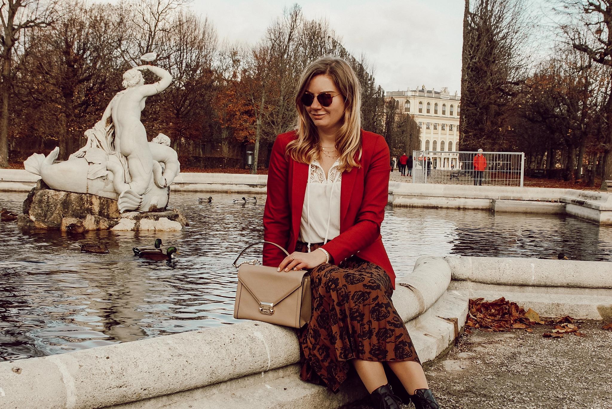 Mos Mosh Outfit, Schloss Schönbrunn, Winter Outfit