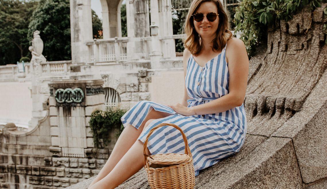 Wien: Mein Sommeroutfit für einen Spaziergang durch den Wiener Stadtpark