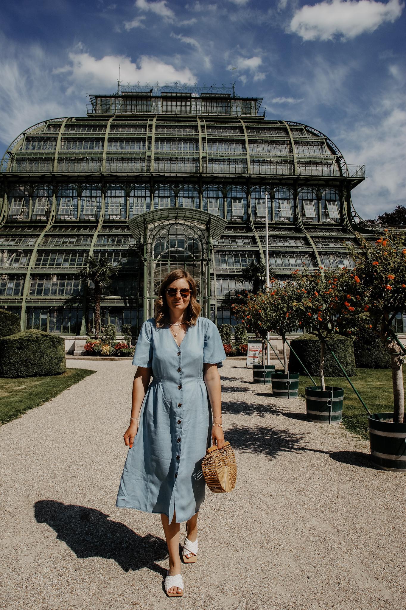 Schloss Schönbrunn Byoung Kleid