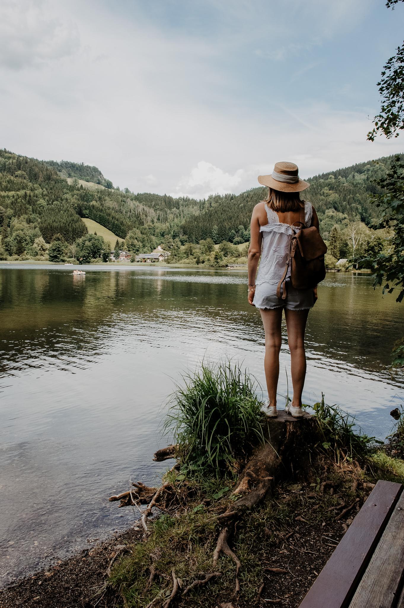 Lunz am See Wanderung zum Mittersee