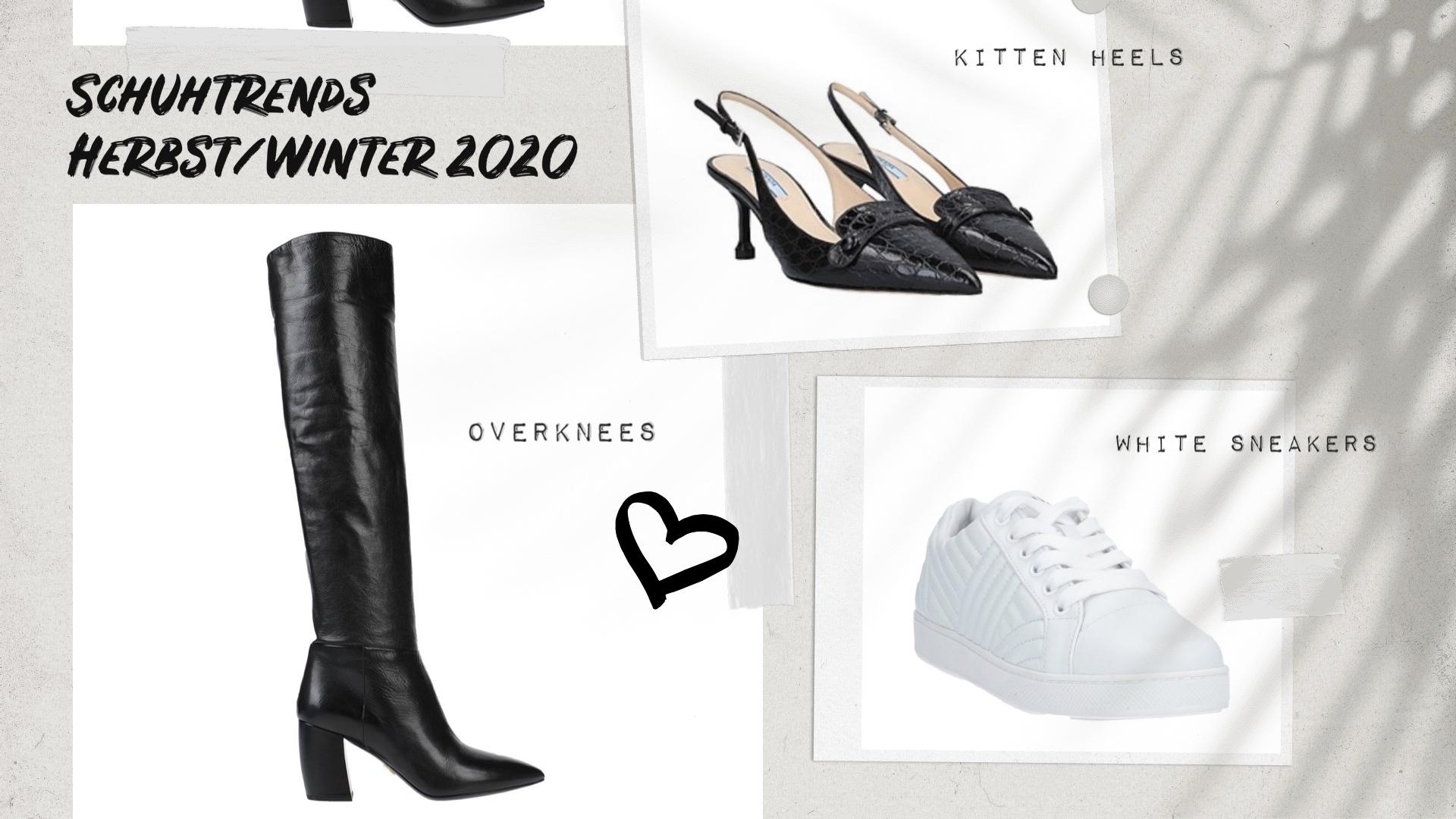 Schuhtrends Herbst Winter 2020