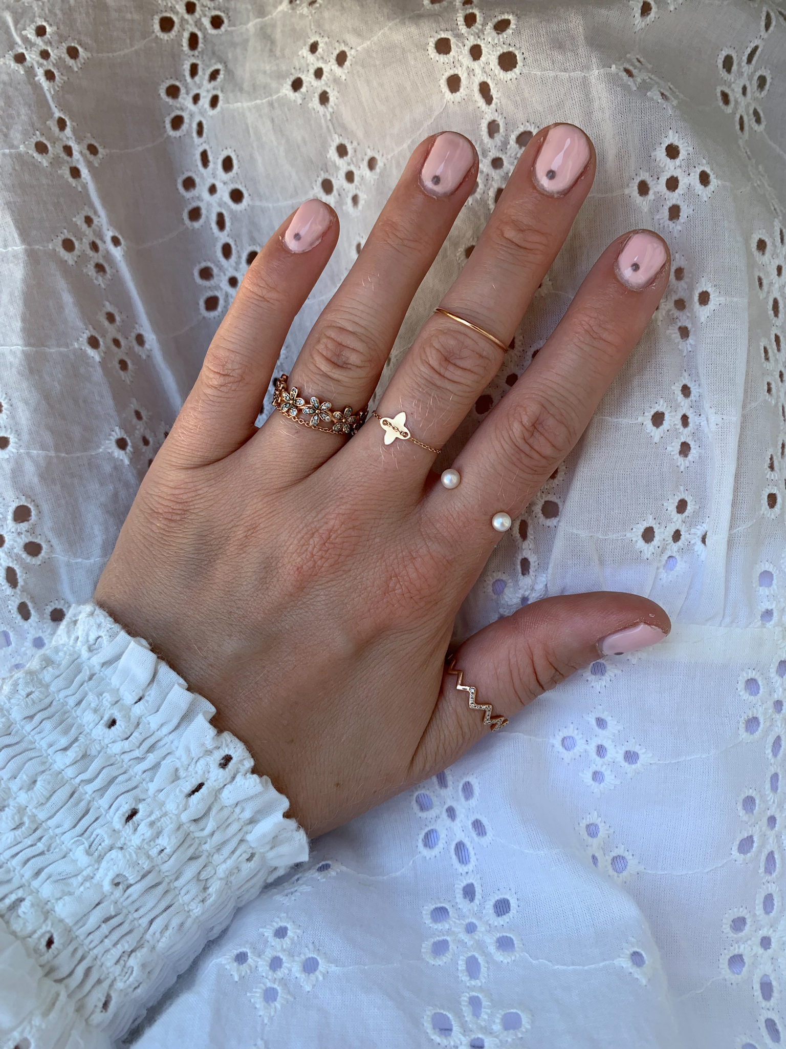 Striplac Review pink nails