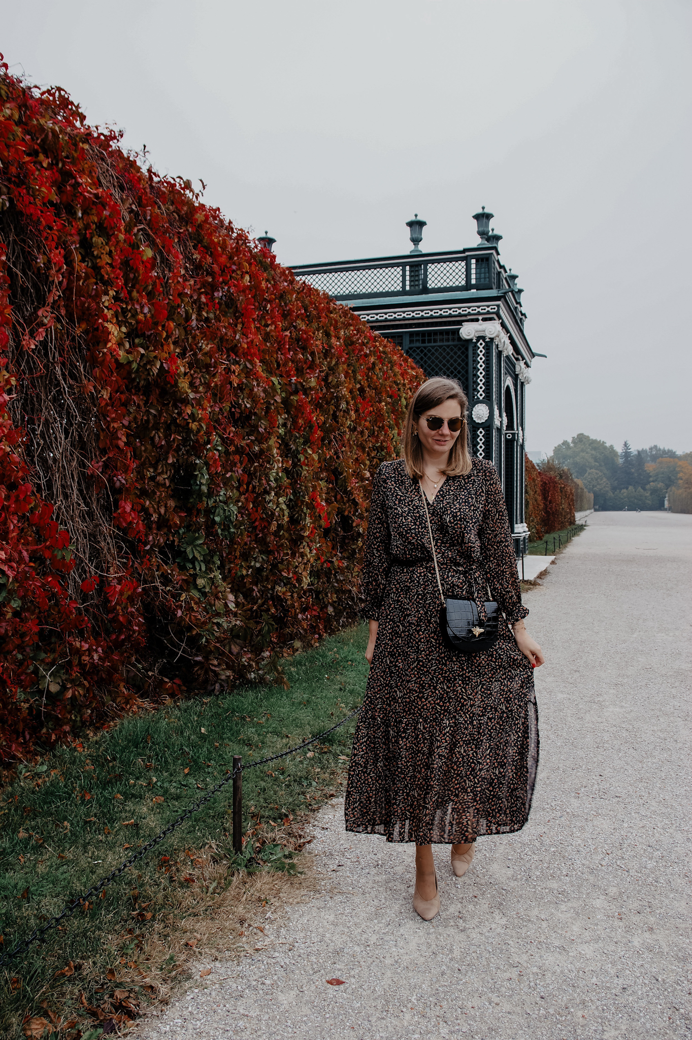 Maxikleid im Herbst