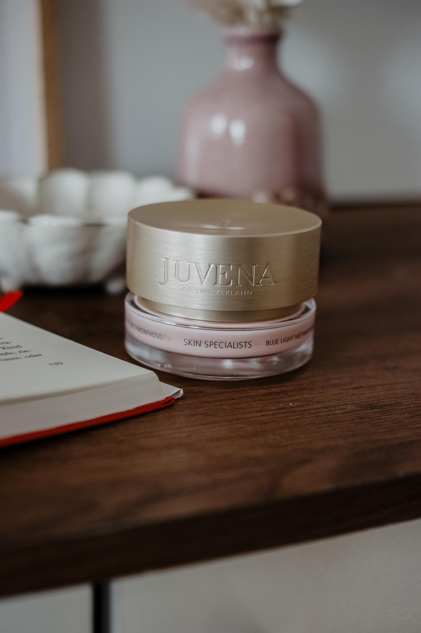 Juvena: Blue Light Metamorphosis Cream und Serum