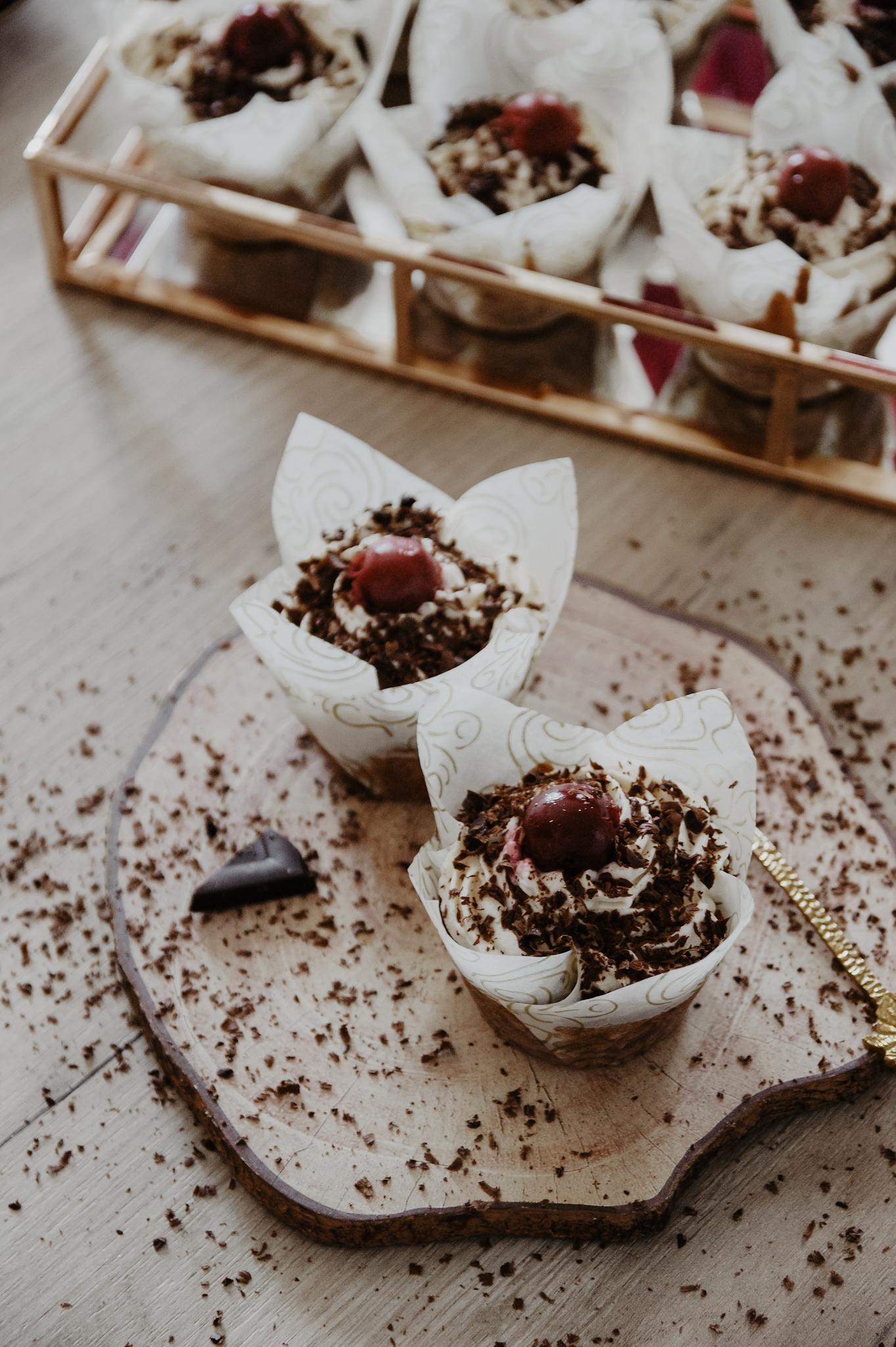 Schwarzwälder Kirsch Cupcakes Muffins