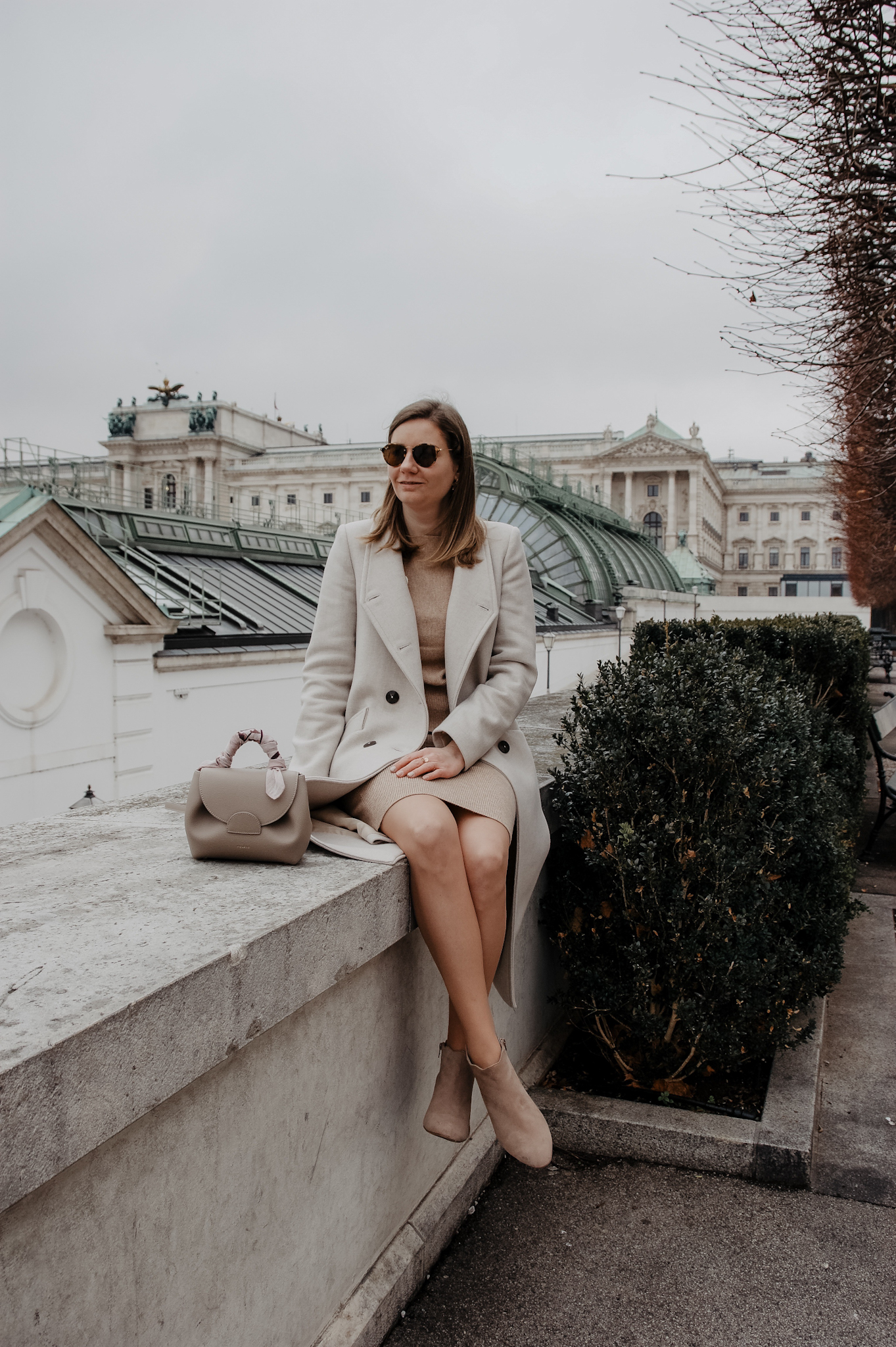 Winter Outfit beige