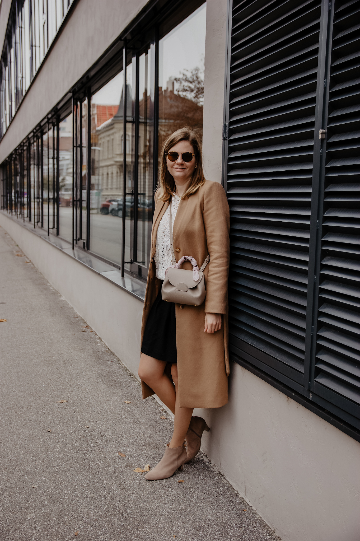 Winter Outfit Camel Coat
