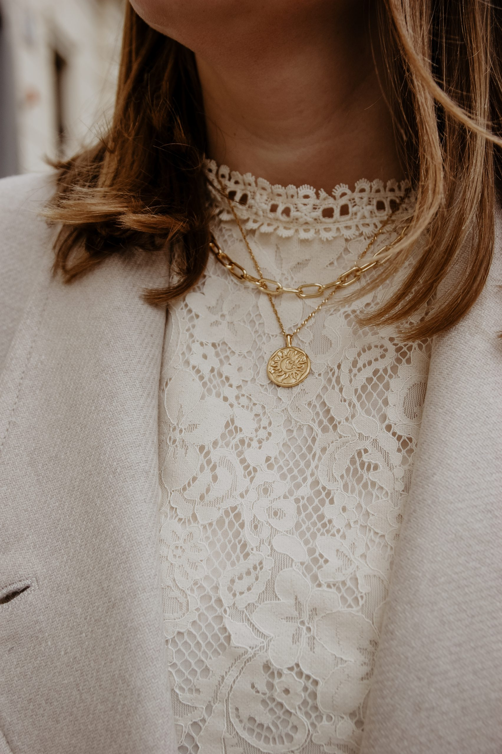 Chunky necklace chain Safira