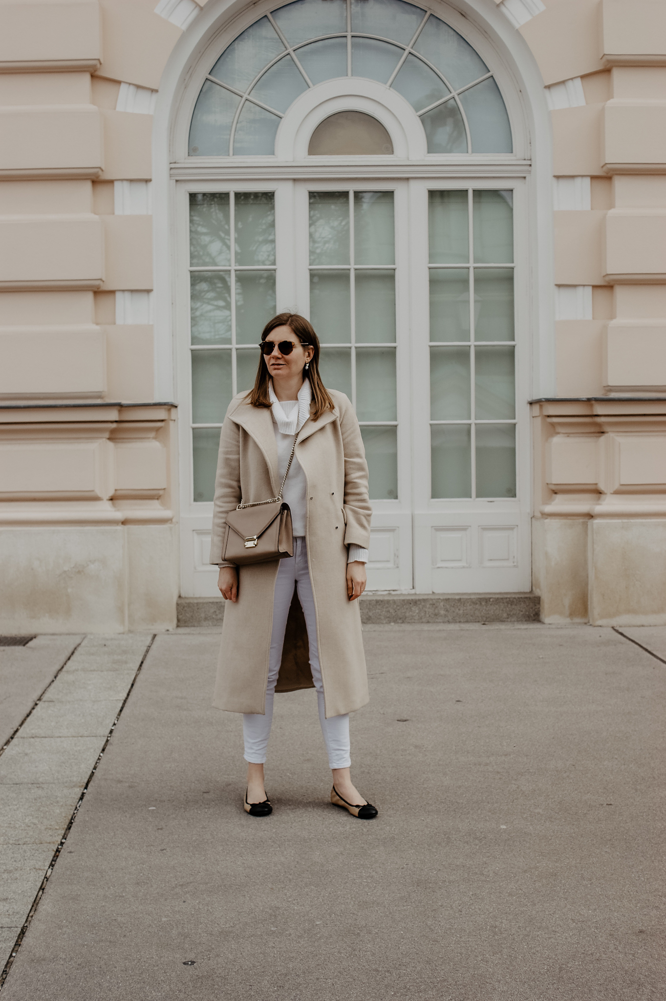 Vienna, spring outfit