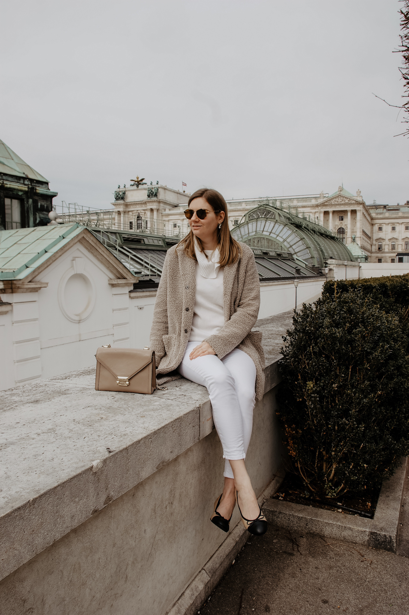 Teddycoat, Vienna, spring outfit