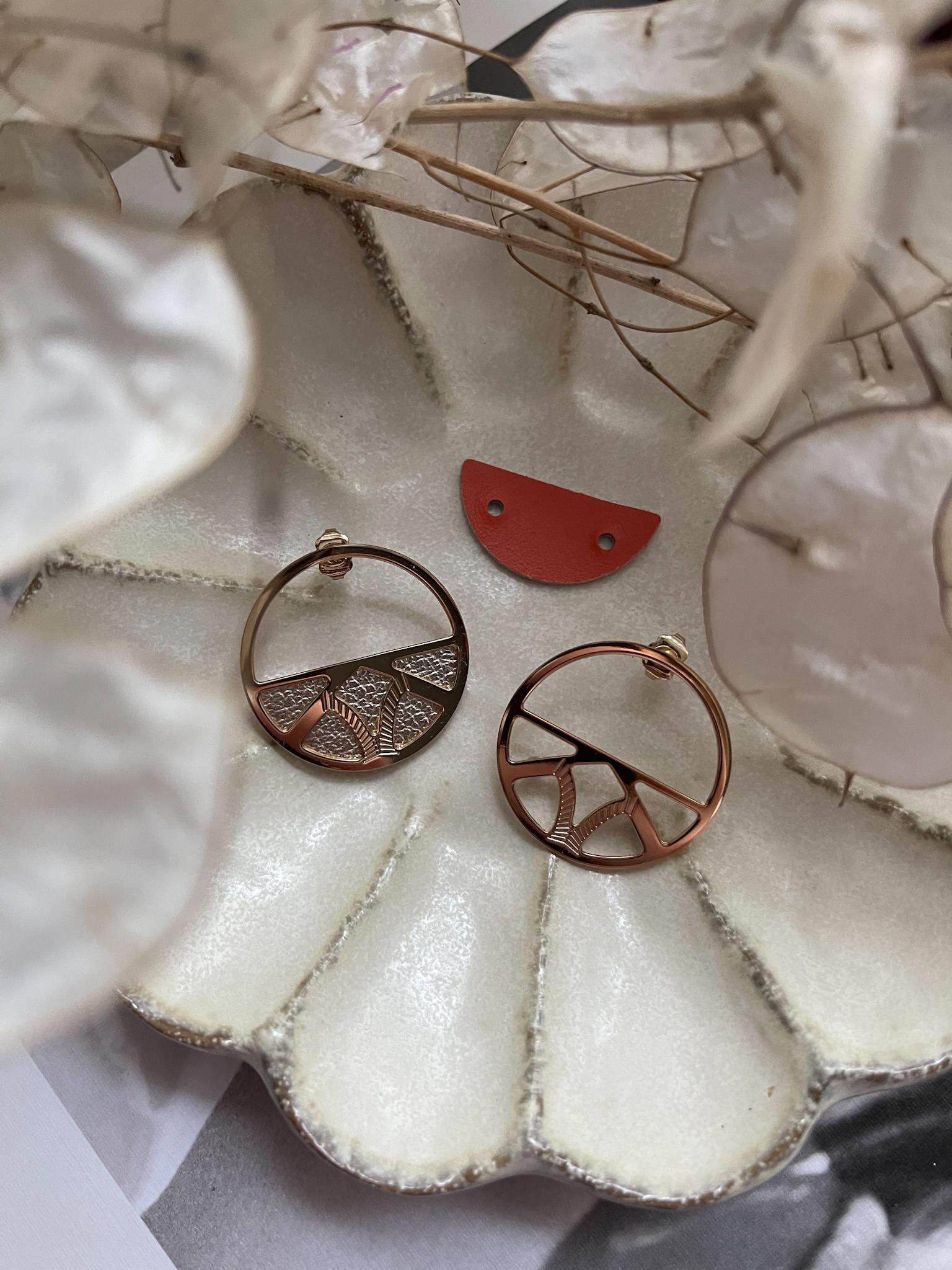 Les Georgettes earrings